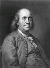 Benjamin Franklin - Benjamin Franklin's Fluid Theory