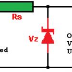 Zener diode Voltage regulator Circuit Design