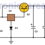 12 to 5 volt Converter Circuit (for cars)