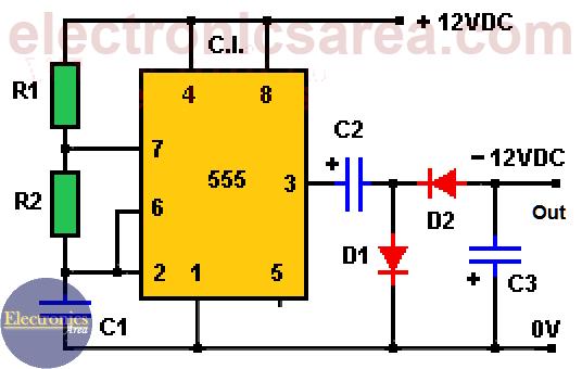 12V to -12V DC Converter