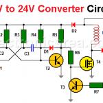 12V to 24V Converter Circuit