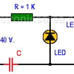 Light-Emitting diode connected to 120/240 VAC