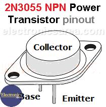 2N3055 Power Transistor pinout