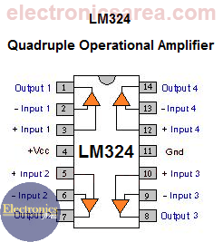 LM324 - Quadruple Operational Amplifier
