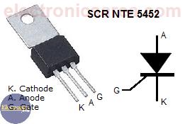 NTE 5452 SCR