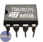 TDA2822M Integrated circuit (audio amplifier)