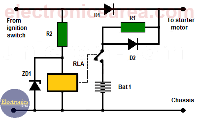 Car Battery Booster circuit (Battery Booster Circuit)