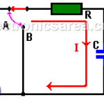 Capacitor Charging Process (RC circuit)