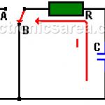 Capacitor Discharging Process (RC circuit)