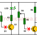 Car Battery Monitor Circuit