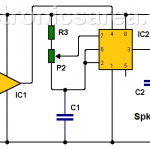 How to Make a Car Temperature Alarm using 741 and 555 ICs?