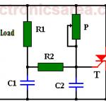 Dimmer / AC motor speed controller using TRIAC