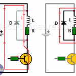 Diode Connected in Parallel to a Relay Coil - Relay diode