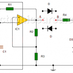 How to Make a Diode Tester Circuit using 741?