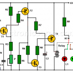 Electronic Thermostat Circuit using transistors