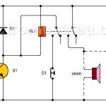 Light sensitive alarm using LDR