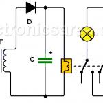 Power Failure alarm using transformer and relay