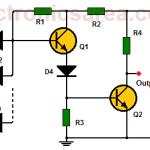 NAND gate using transistors