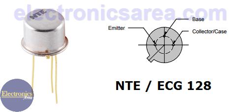 NTE128 NPN transistor pinout