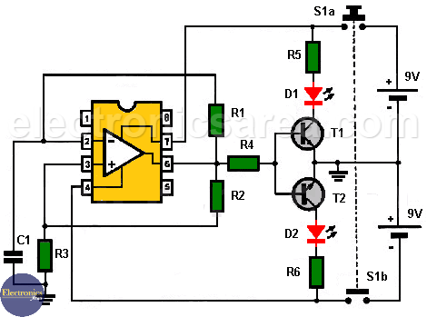 Op Amp Tester Circuit