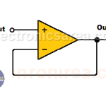Op Amp Voltage follower (Op Amp Voltage Buffer)