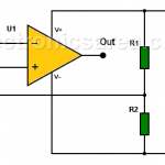 How to use op amps with a single rail power supply?