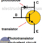 What is a Phototransistor? - Phototransistor Equivalent Circuit