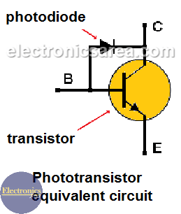 Phototransistor Equivalent Circuit