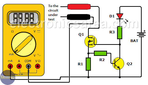 How to Protect the 500 mA Fuse of a Multimeter?