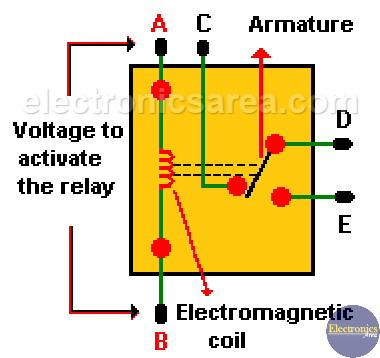 circuit diagram alternating relay switch relay types of relay advantages and disadvantages  relay types of relay advantages and