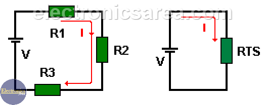 Resistors in series - Resistors in series and parallel