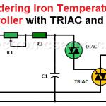 Soldering Iron Temperature Controller (TRIAC - DIAC)