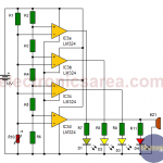 8 led vu meter circuit using lm324 ic electronics area lm324 audio amplifier circuits lm324 vu meter! youtube