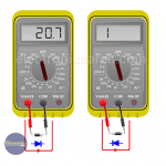 How to test Diodes and How to test Transistors using Multimeter?