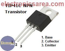 TIP41C NPN transistor
