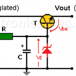 Transistorized Voltage Regulator (Zener & Transistor)